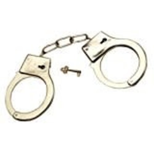 Jacobson Hat Company *Metal Handcuffs with Key