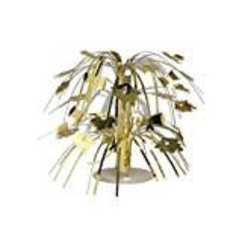 Gold Grad Cap Mini Cascade Centerpiece