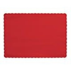 *Classic Red Placemats 50ct
