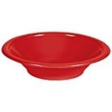 *Classic Red 12oz Plastic Bowl 20ct