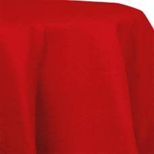 *Classic Red Octy Round Tablecover