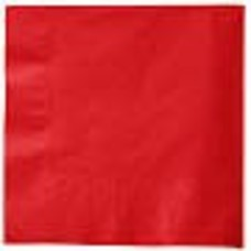 *Classic Red Beverage Napkins 50ct