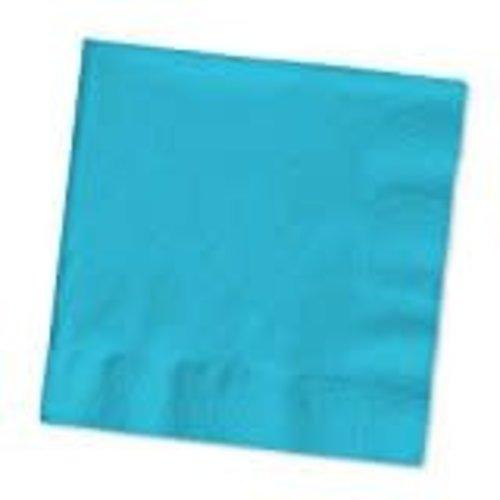 Bermuda Blue 3ply Beverage Napkin 50ct