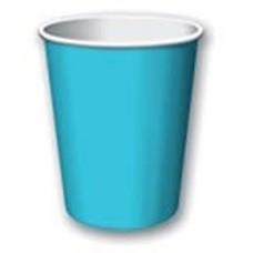 Bermuda Blue 9oz Hot Cold Cups 24ct