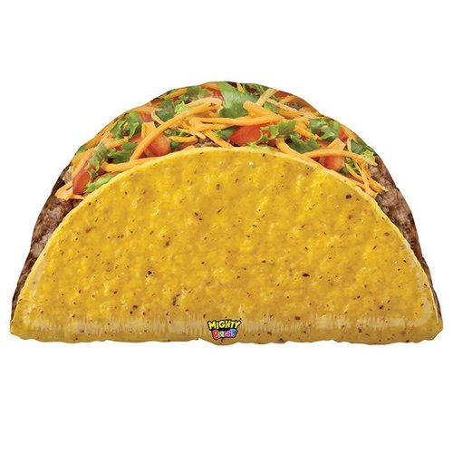 "Mighty Taco 32"" Jumbo Mylar"