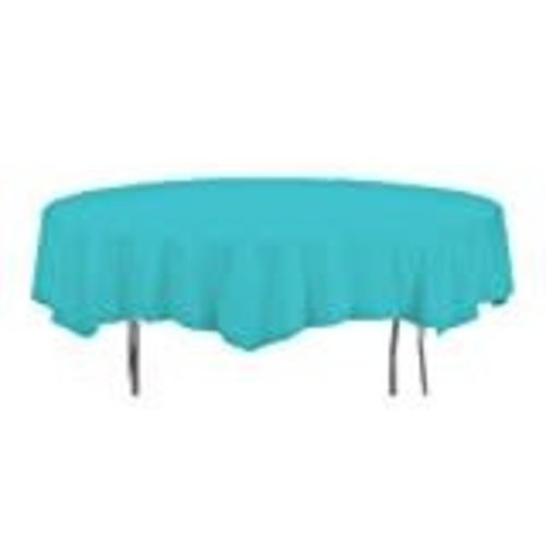 *Bermuda Blue Octy Round Tablecover