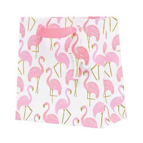 CR Gibson *Flamingle Petite Embellished Gift Bag