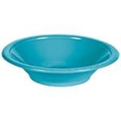 Bermuda Blue 12oz Plastic Bowls 20ct