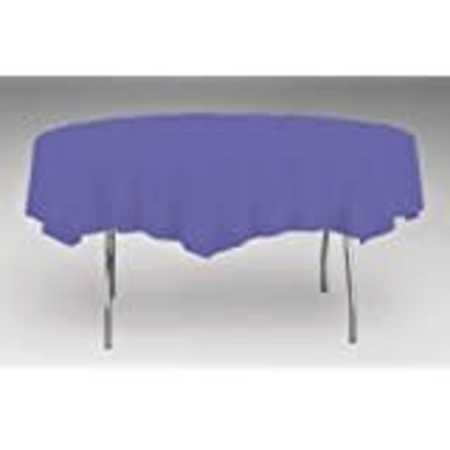 *Purple Octy Round Tablecover