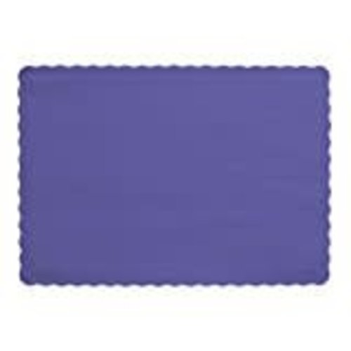 *Purple Placemats 50ct