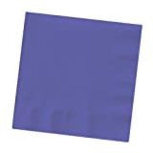 Purple 3ply Beverage Napkins 50ct