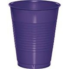 Purple 16oz Plastic Cups 20ct