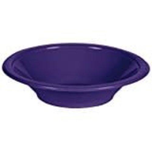 Purple 12oz Plastic Bowl 20ct