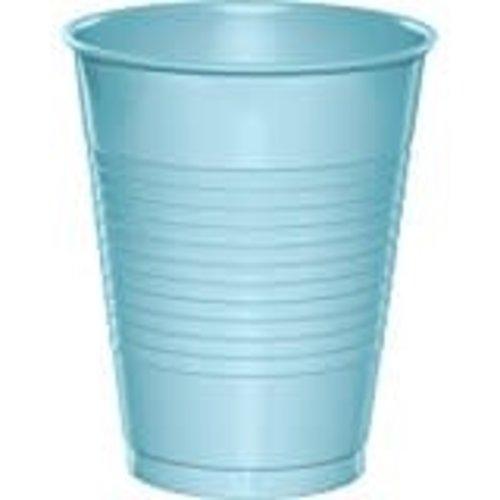 Pastel Blue 16oz Plastic Cups 20ct