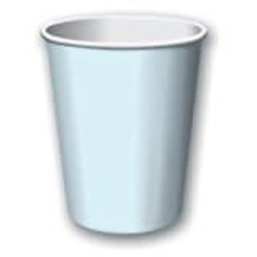 Pastel Blue 9oz Hot Cold Cups 24ct