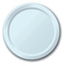 "Pastel Blue 7"" Paper Dessert Plates 24ct"