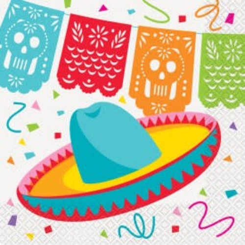 Mexican Fiesta Lunch Napkin
