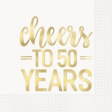 Cheers to 50 Years Gold