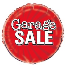 Garage Sale Mylar Balloon