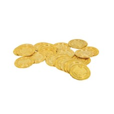 30ct Gold Plastic Coins