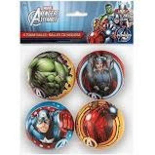 Avengers Foam Balls 4ct
