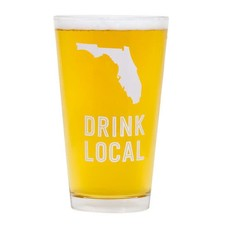 About Face Designs Florida Beer Pint Glass