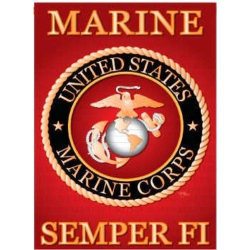 *Marine Garden Flag