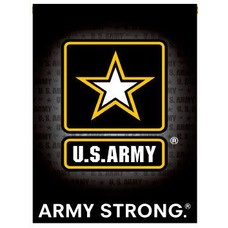 United States Army Strong Garden Flag