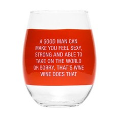 About Face Designs Wine Does That Wine Glass