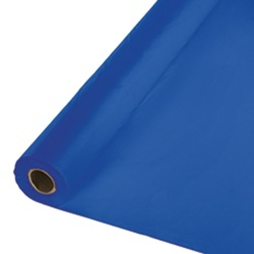 *Cobalt 100' Roll Plastic Tablecover