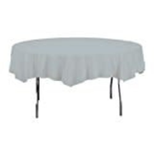 *Shimmering Silver Octy Round Tablecover