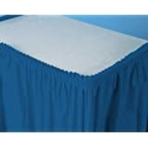 *Navy 14' Table Skirt