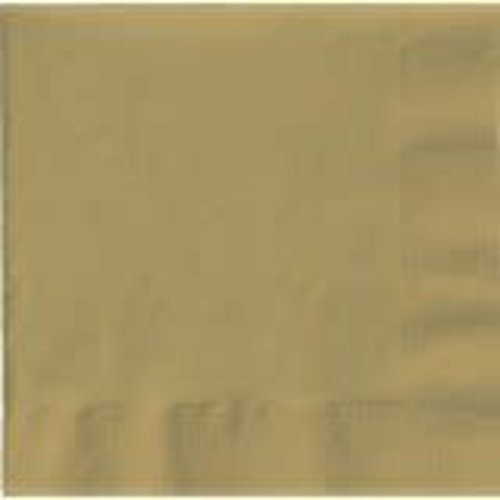 *Glittering Gold 3ply Lunch Napkin 50ct