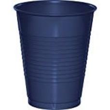 Navy 16oz Plastic Cup 20ct