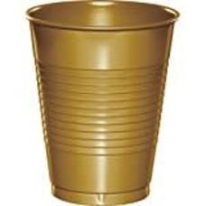 Glittering Gold 16oz Plastic Cup 20ct