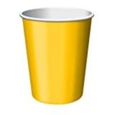 School Bus Yellow 9oz Hot/Cold Cups 24ct