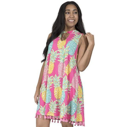 Charlestone Keyhole Pineapple Dress