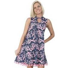 Naples Keyhole Dress