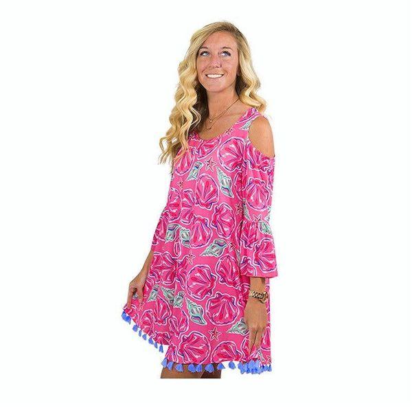 Wilmington Cold Shoulder Dress