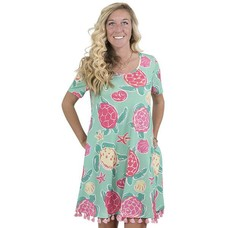 Top Sail Short Sleeve Dress