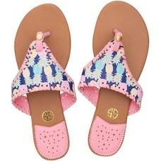 Multicolor Pineapple Sandal