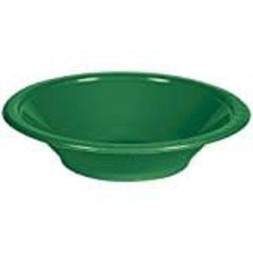 *Emerald Green 12oz Plastic Bowl 20ct