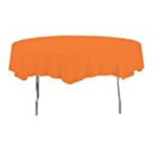*Sunkissed Orange Octy Round Tablecover
