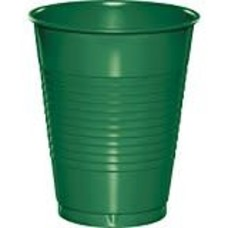 *Emerald Green 16oz Plastic Cups 20ct