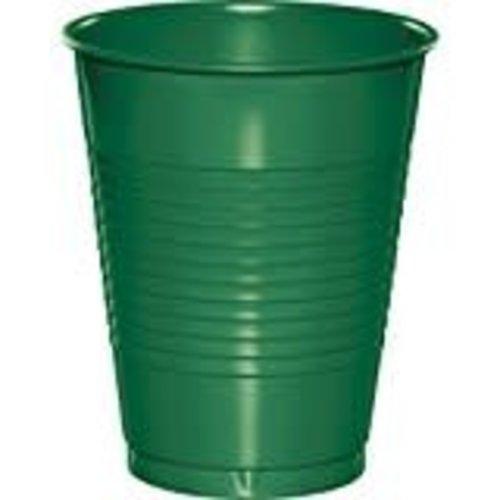 *Emerald Green 16oz Plastic Cups 20ct