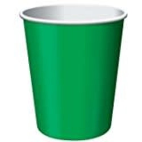 *Emerald Green 9oz Hot/Cold Cup 24ct