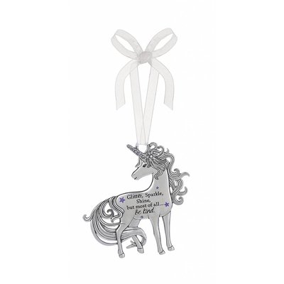 Glitter, Sparkle, Shine Unicorn Ornament