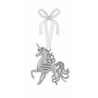Teachers Unicorn Ornament