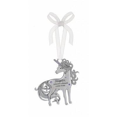 Daughter Unicorn Ornament