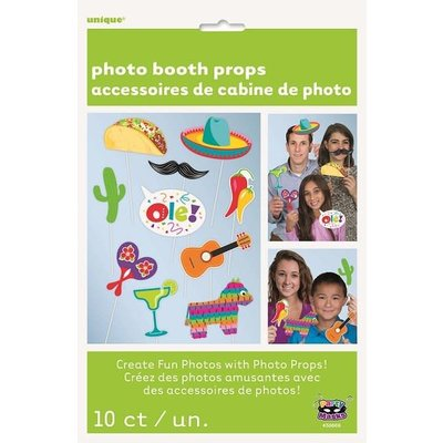 Fiesta Photo Booth Props